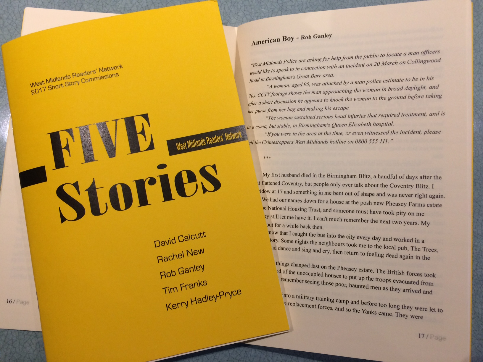 Five stories cover & inside